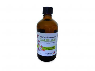 Flacon d'huile vierge de cameline 100 ml